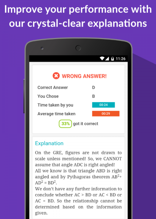 GRE App for iOS