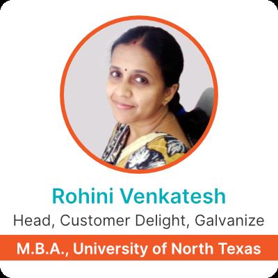 Rohini Profile Card