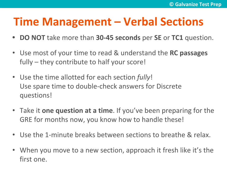 Score a 160+ in GRE Verbal • Preparation Strategy & Practice Questions
