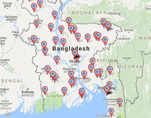 BangladeshMap