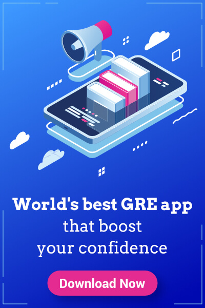 GRE exam preparation app