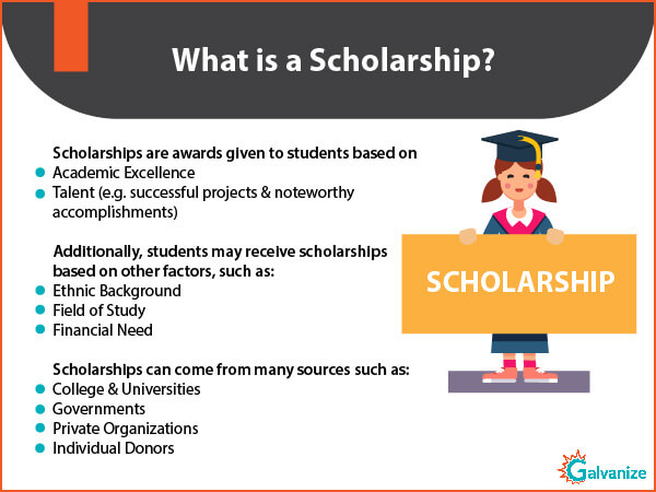 GRE Scholarship sources and requirements