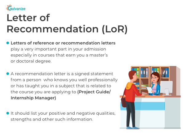 Letter of Recommendation- LOR full form