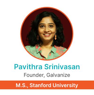 Pavitra Srinivasan | Founder Galvanize Test Prep