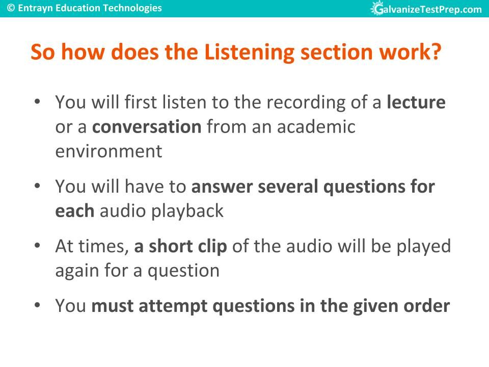 English test toefl listening