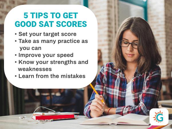 Tips to get Good SAT scores