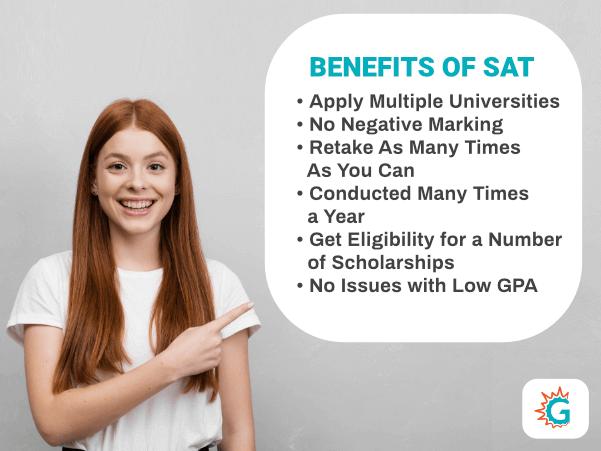 Benefits of SAT