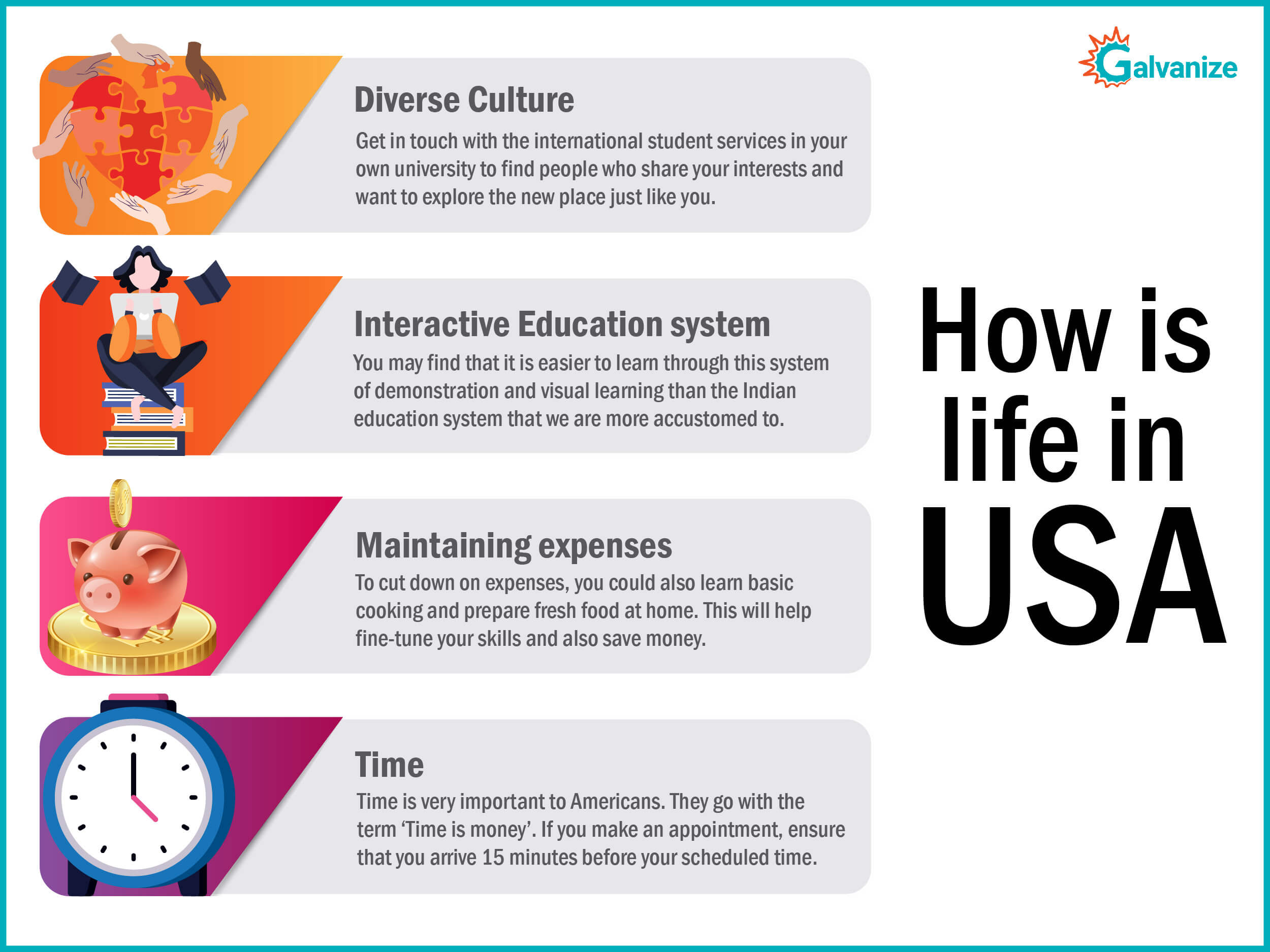 How is life in USA | Study in USA | Admission counselling USA