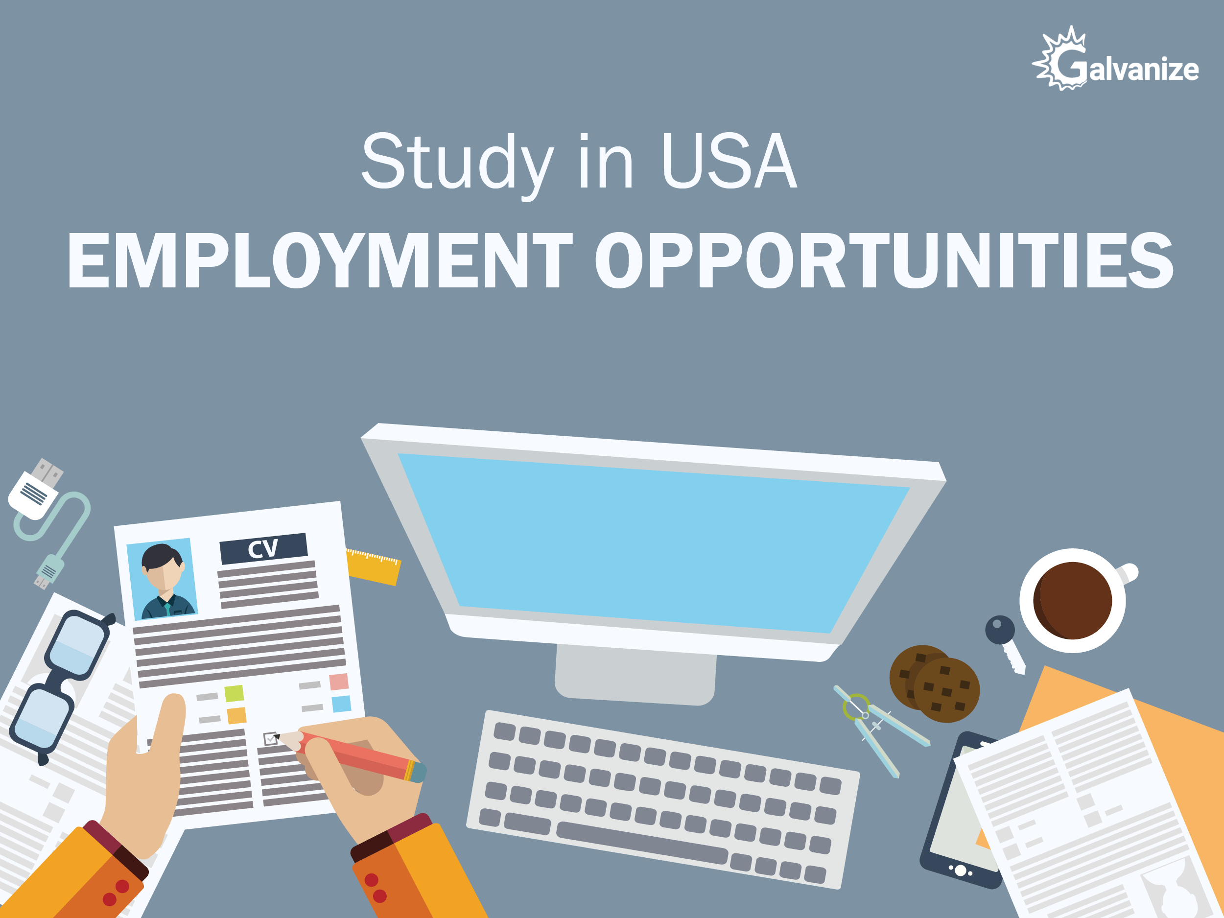 study in USA employment opportunities