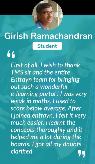 Girish Ramachandran Testimonal | TMS Online Academy