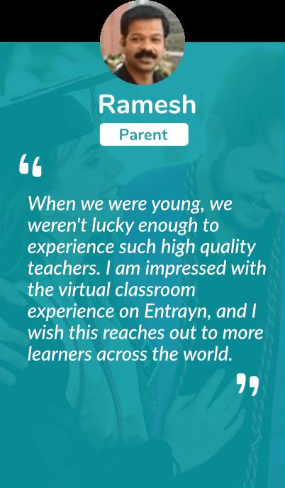 TMS Online Academy | Ramesh Testimonal |