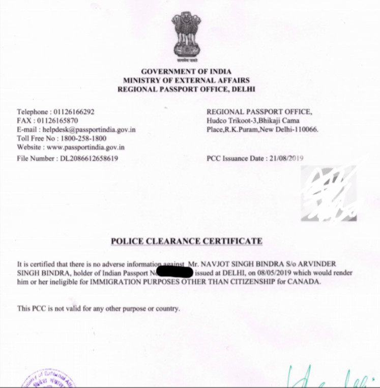 Police Clearance Certificate (PCC) (1)