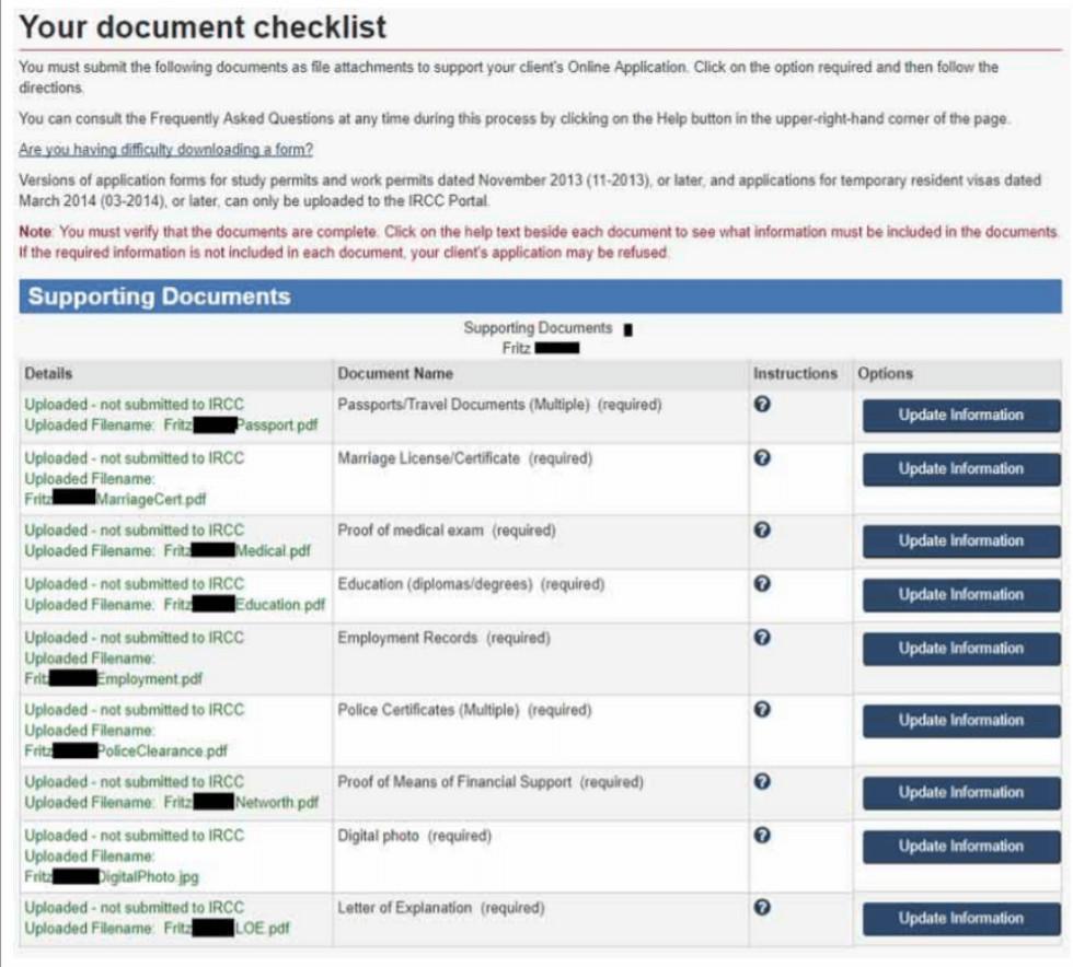 document checklist (1)